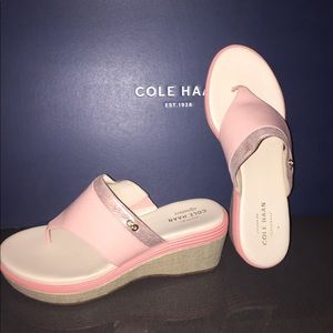 Cole Haan Cecily Grand Wedge Sizes 7 Sandals. New